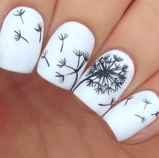 Dandelion Nails.