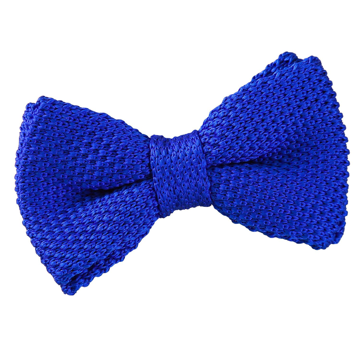 17efd5aac8fb Royal Blue Knitted Pre-Tied Bow Tie for Boys | Boy's Bows ...