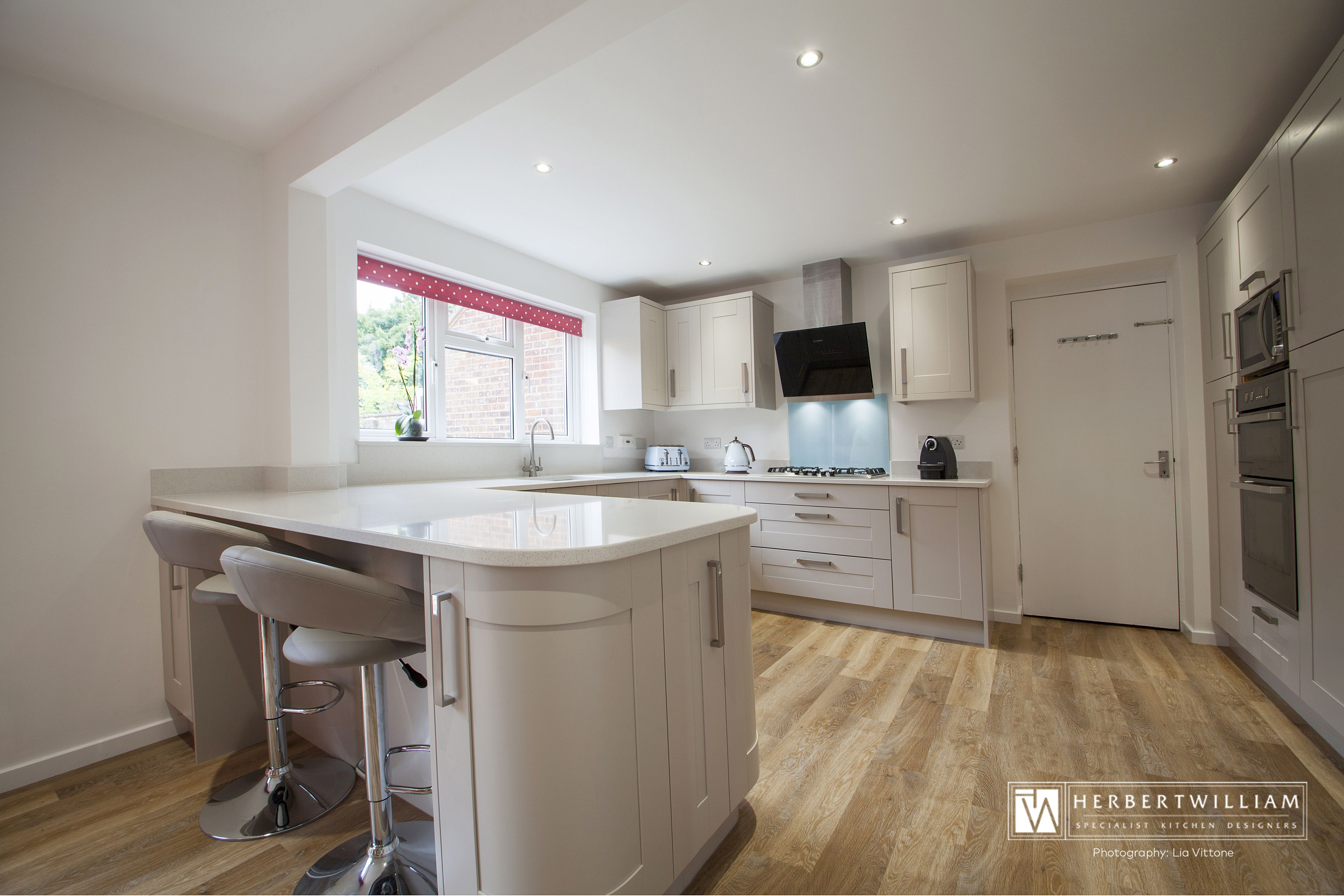 This kitchen was designed for a small family in Lyndhurst, Hampshire ...