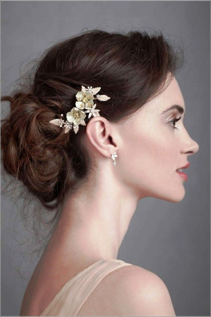Wedding Updo Hairstyles For Thin Hair Best Color Ideas | hair ...