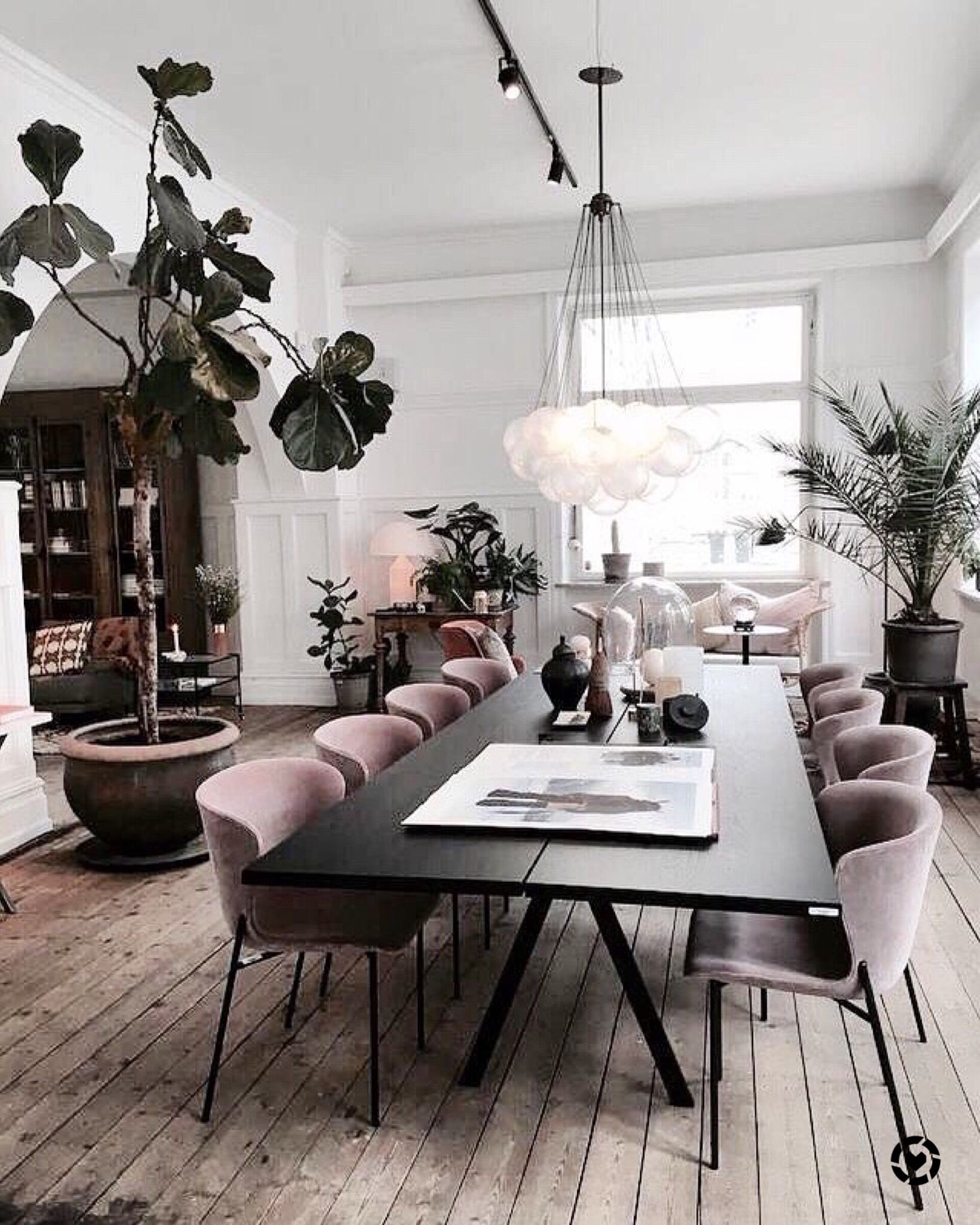 Dining Room Perfection Beautiful Dusky Pink Dining Chairs