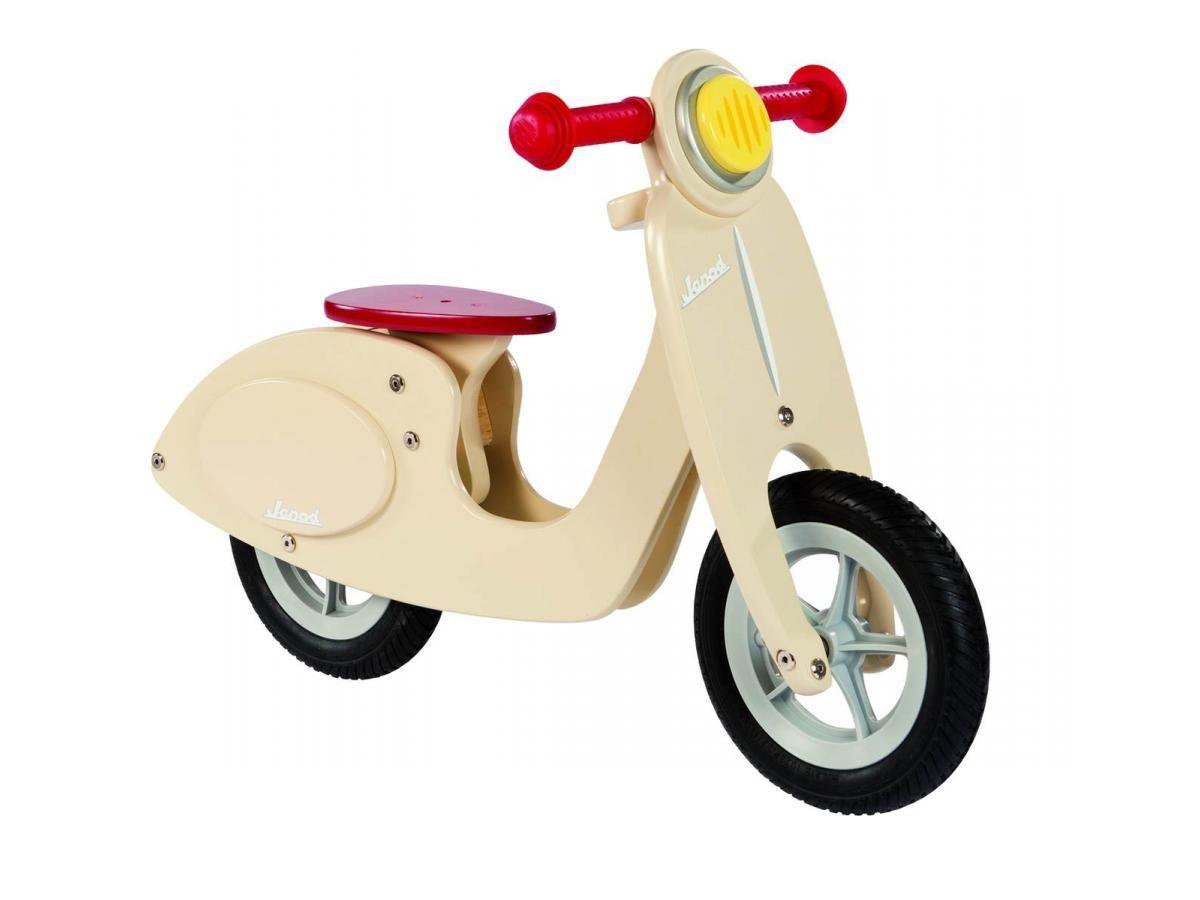 Jouet : scooter en bois