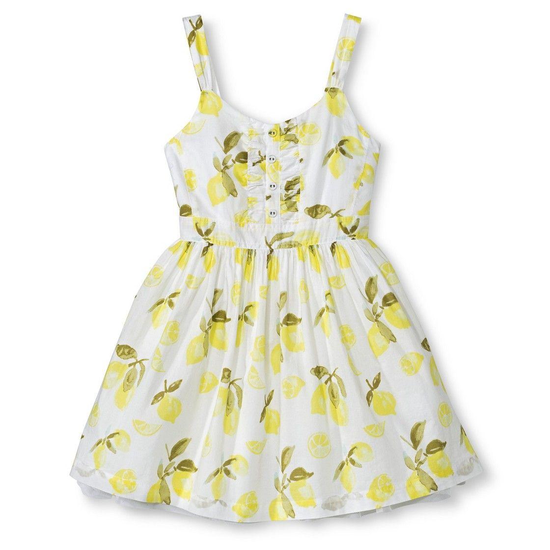 Girls� Floral Sun Dress