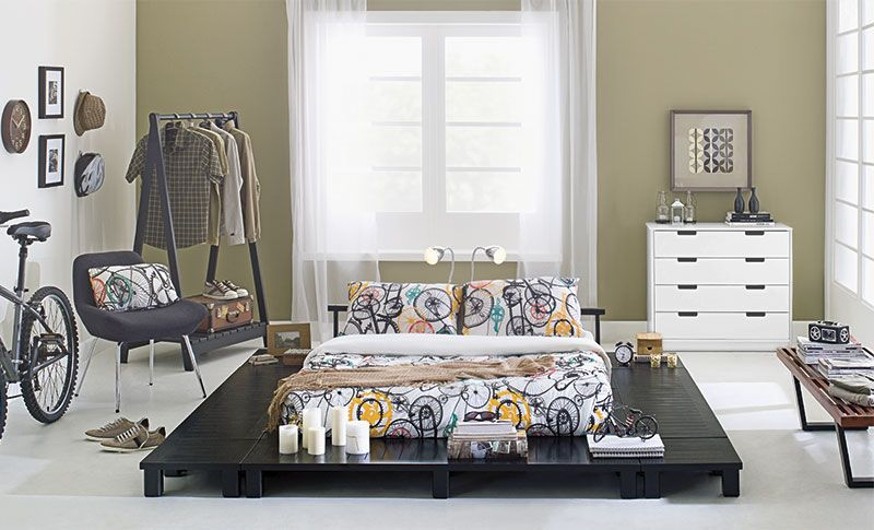 Tok&Stok Quartoteen Inspire-se no minimalismo oriental e poder das cores neutras para criar um quarto teen radical.