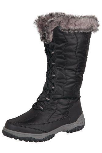 64ac4b7f Mountain Warehouse Tormenta de nieve larga para mujer impermeable forrado  de piel sintética de nieve Botas de invierno #MountainWarehouseTormenta