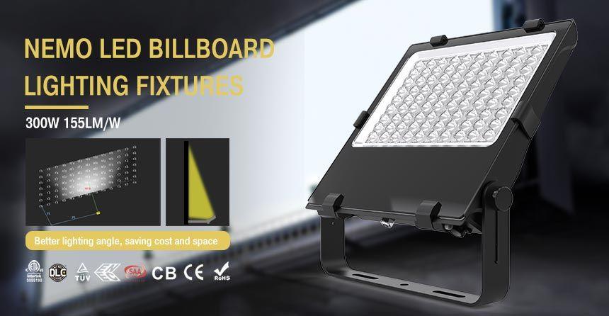 300w Led Billboard Light Adjustable Mounting Bracket Outdoor Sign Led Lighting Sign Lighting Led Lights Led