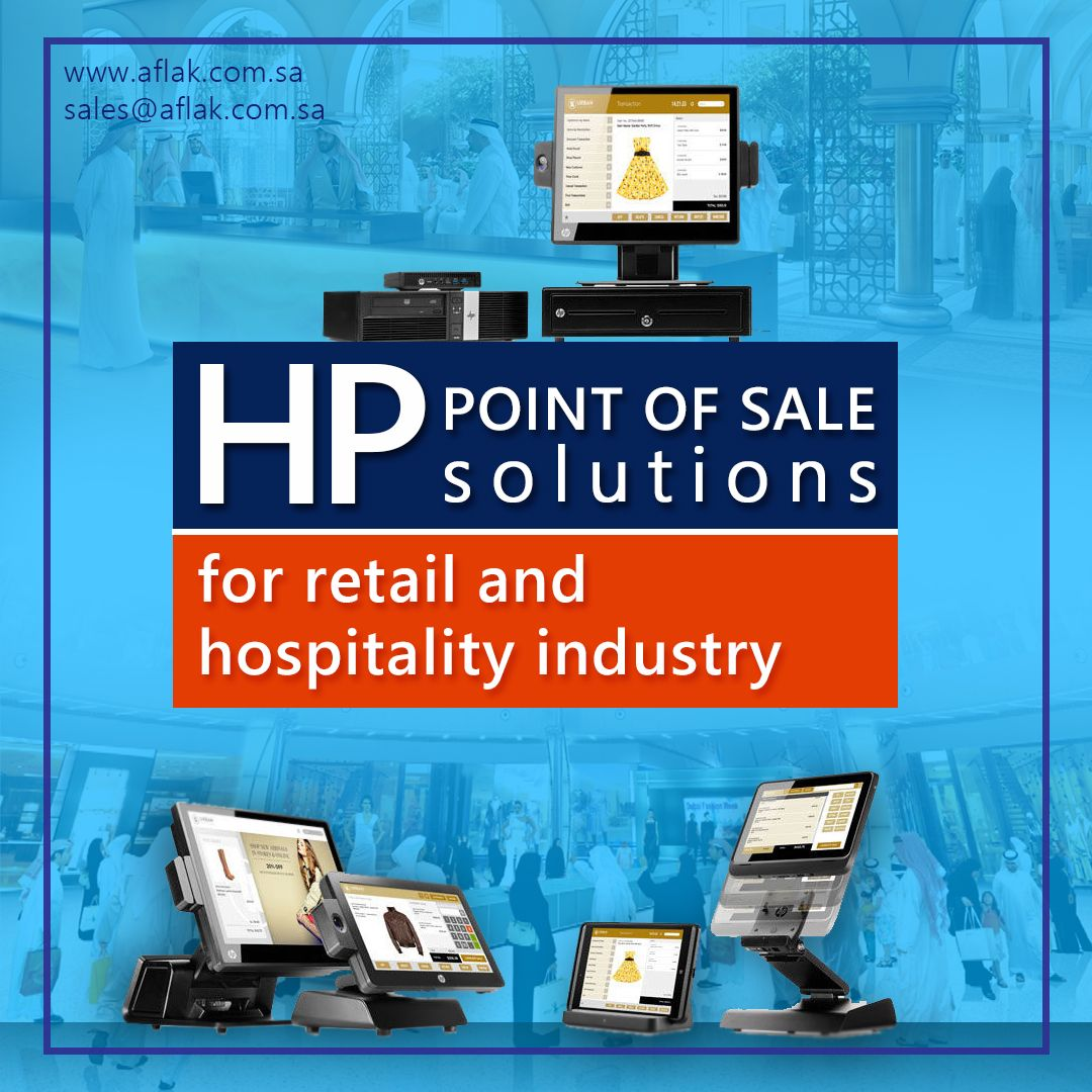Use Hp Pos Machine And Be A Smart Entrepreneur Of Your Industry Aflak Is A Hp Pos System Distributor And Dealer Retail Solutions Mobile Solutions Solutions