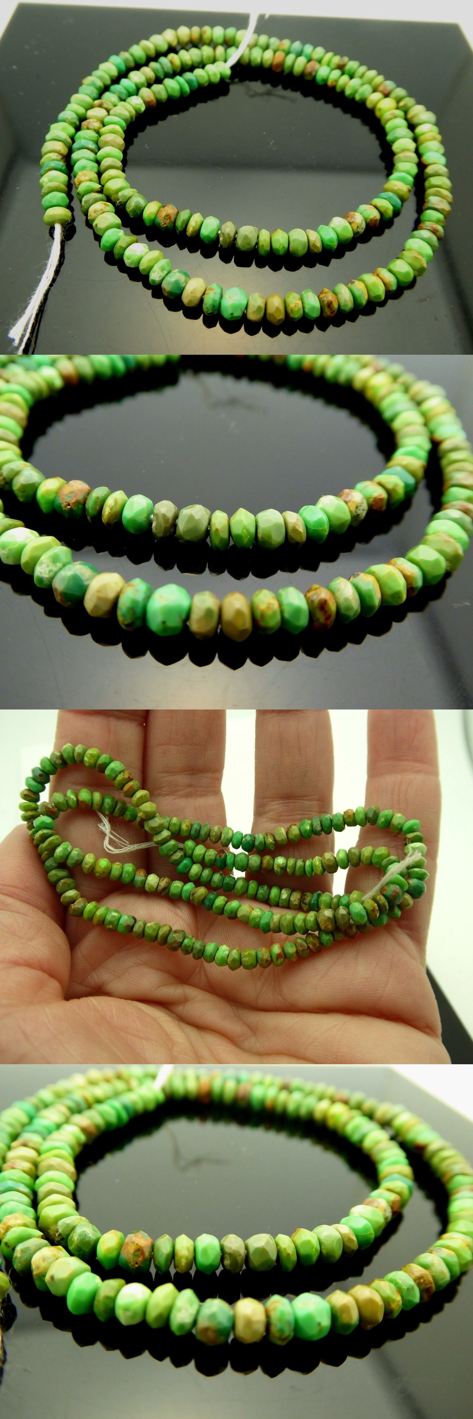 Gaspeite Beads
