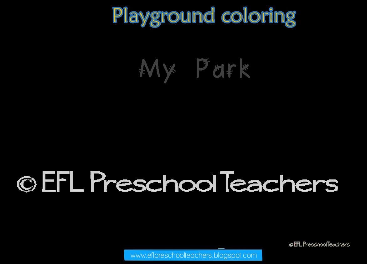 Esl Park Playground Recess Teacher Favorite Things English As A Second Language Playground [ 846 x 1172 Pixel ]