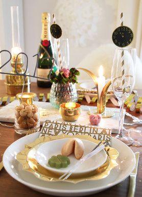 Die Schonsten Silvester Deko Ideen Silvester New Years Eve