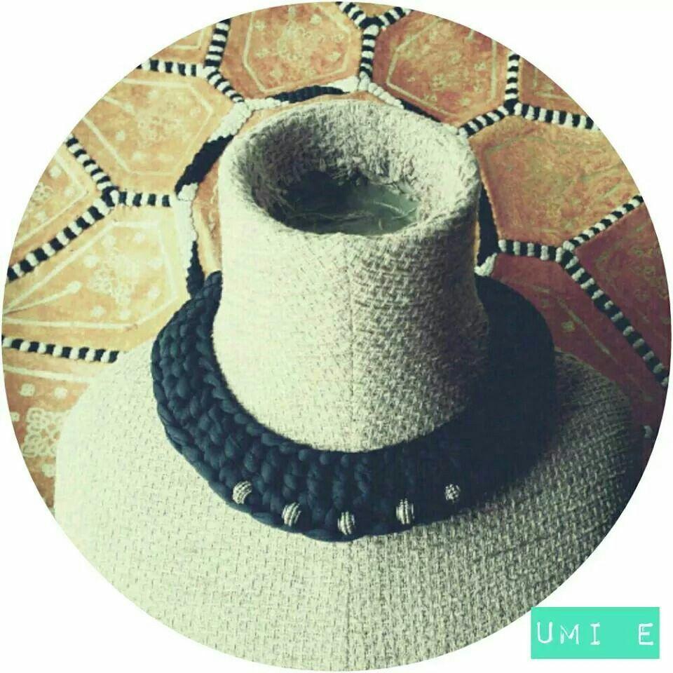 Gargantilla étnica. Trapillo. Crochet XL.