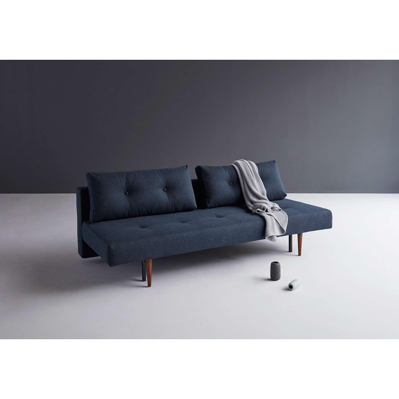Innovation Recast Sofa Bed with Pocket Sprung Mattress, Dark Leg ...