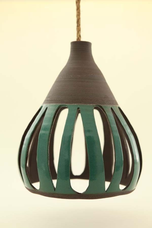 Heather levines ceramic hanging pendant lights cermica heather levines ceramic hanging pendant lights aloadofball Image collections