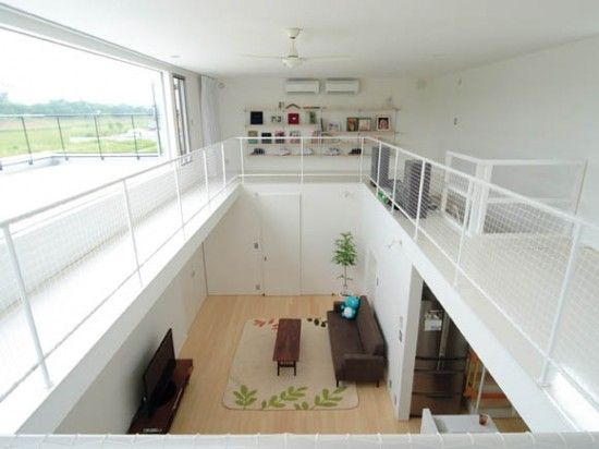 The WITH Japanese minimalist house design 4 Living Room