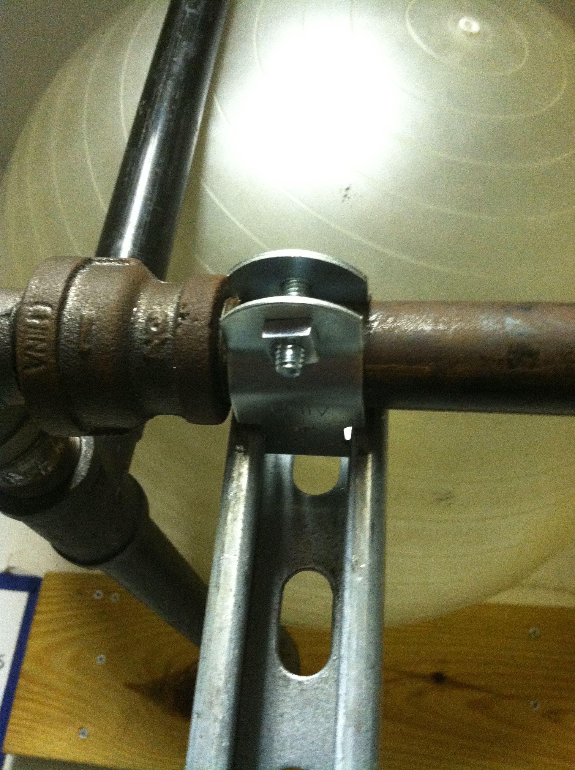 Unistrut Squat And Bench Rack