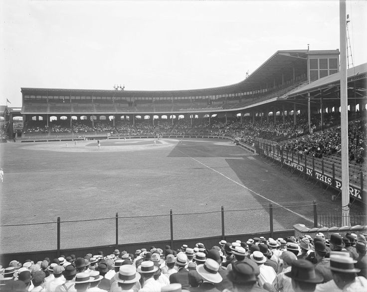 Rare Shot Of Pre Expansion Comiskey Park As It Looked When It
