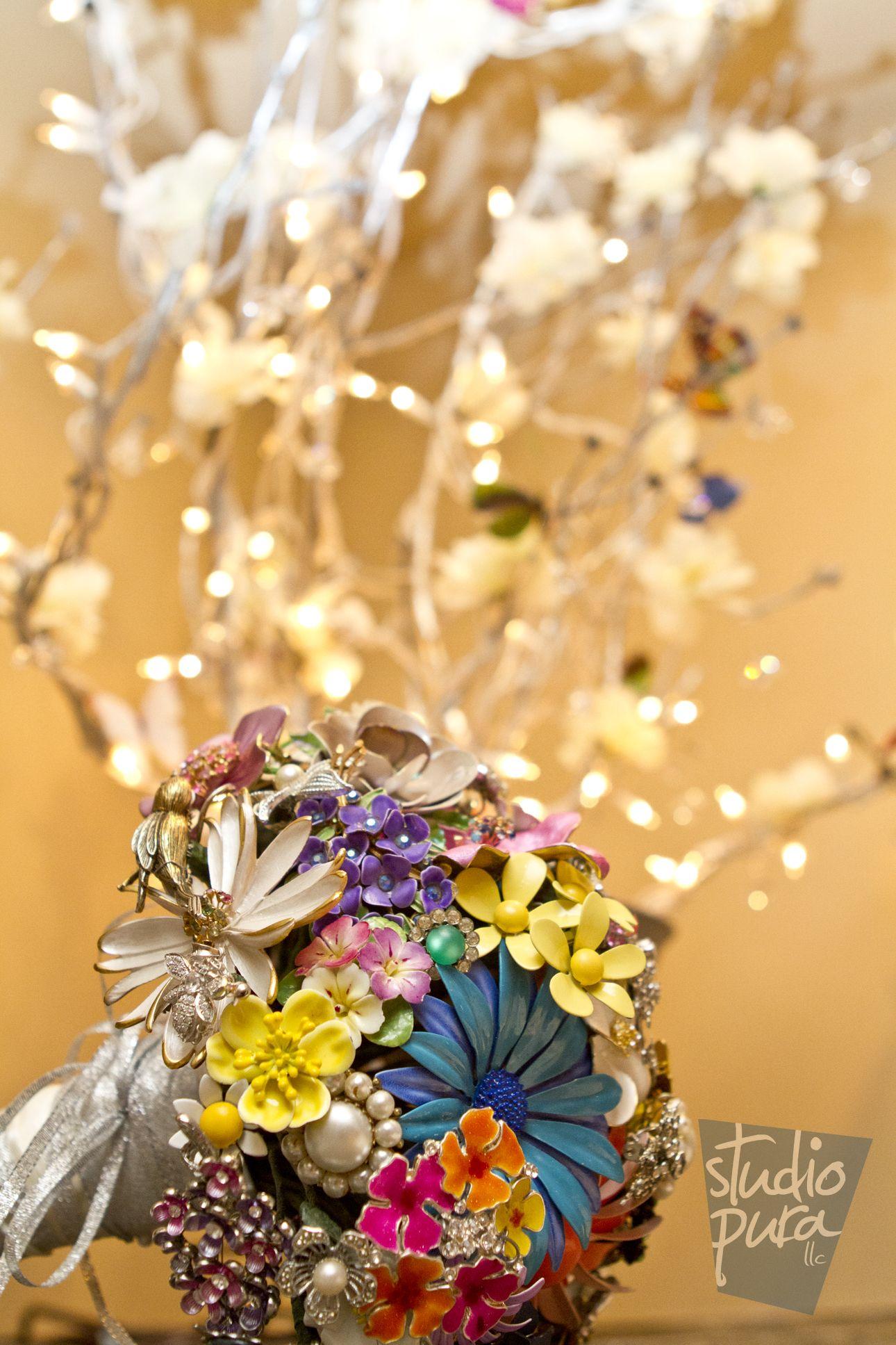 Wedding Bouquet, Brooch Wedding Bouquet, DIY Bride