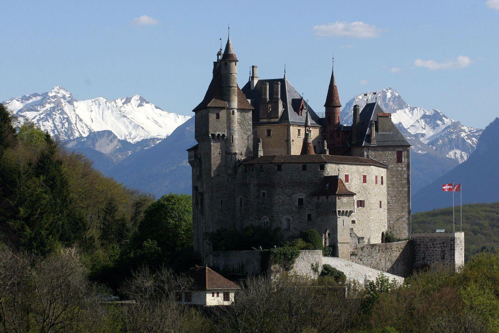 Chateau De Menthon Saint Bernard Google Search Castle Annecy