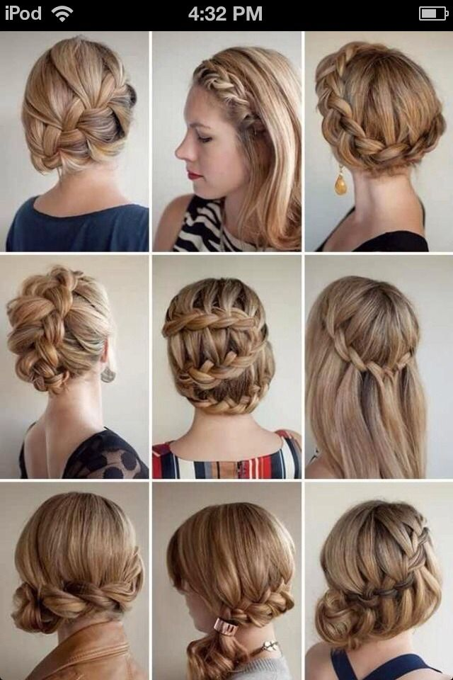 Different Types Of Braids Hair Styles Beauty Diy Hair Long Hair Styles