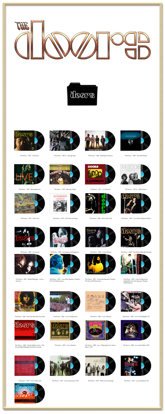 Album Art Icons The Doors Discography Folders (ICO ...  sc 1 st  Pinterest & Album Art Icons: The Doors Discography Folders (ICO \u0026 PNG) | Classic ...