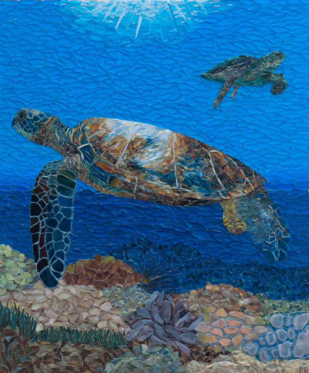 Big Island Turtle www.marydrivermosaics.com