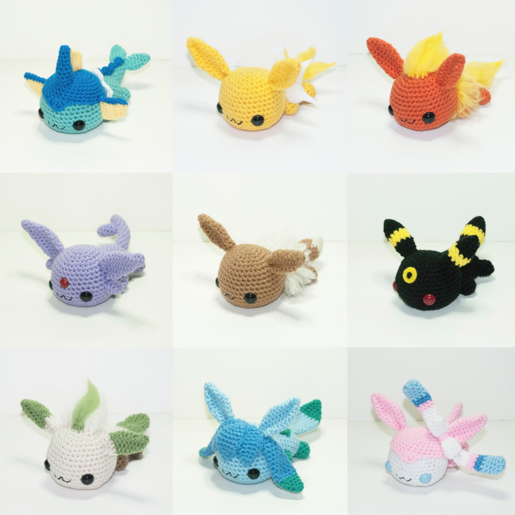 Pokemon-Peluches-Crochet-2 | How To: Crochet Projects | Pinterest ...