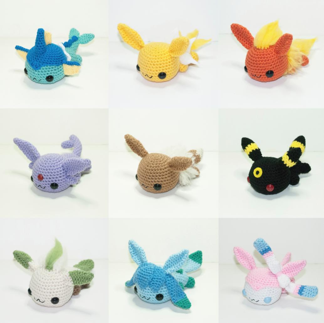 Pokemon-Peluches-Crochet-2 | Crochet - my next challenge! | Pinterest