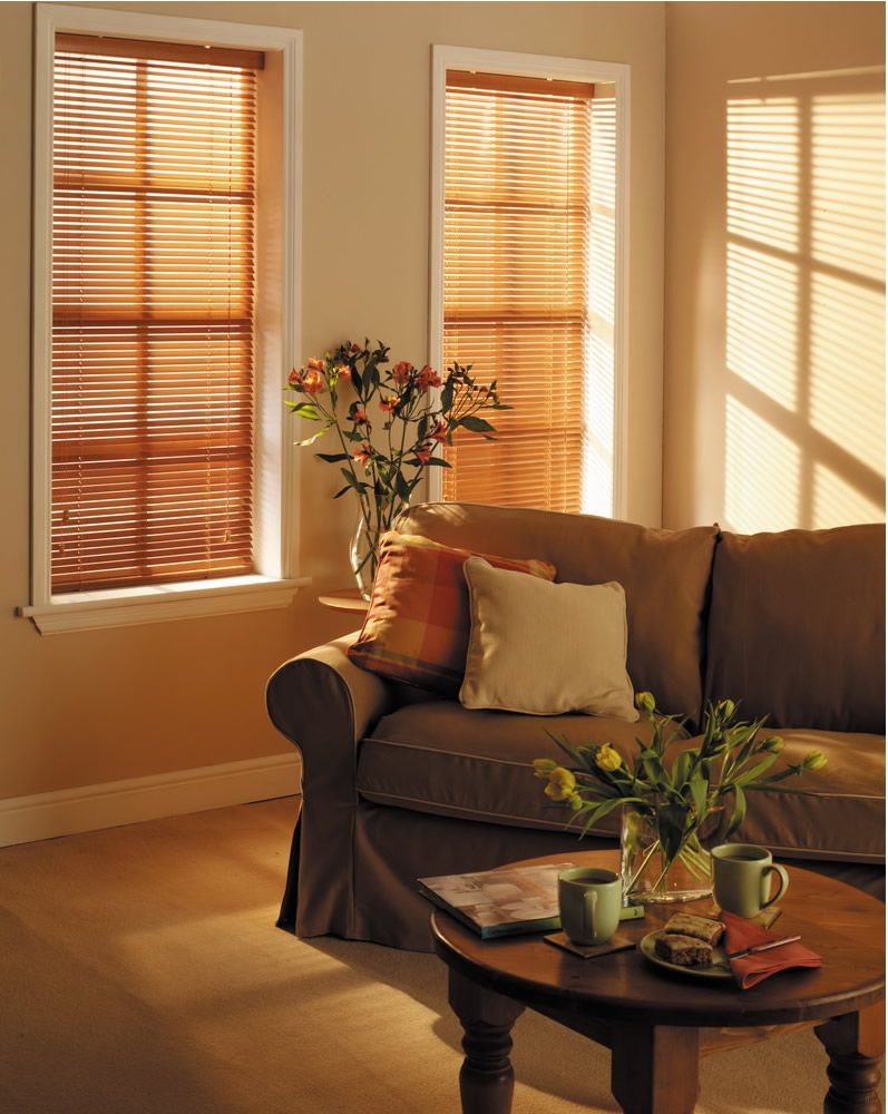 Faux wood is durable, easy to clean, and resists warping