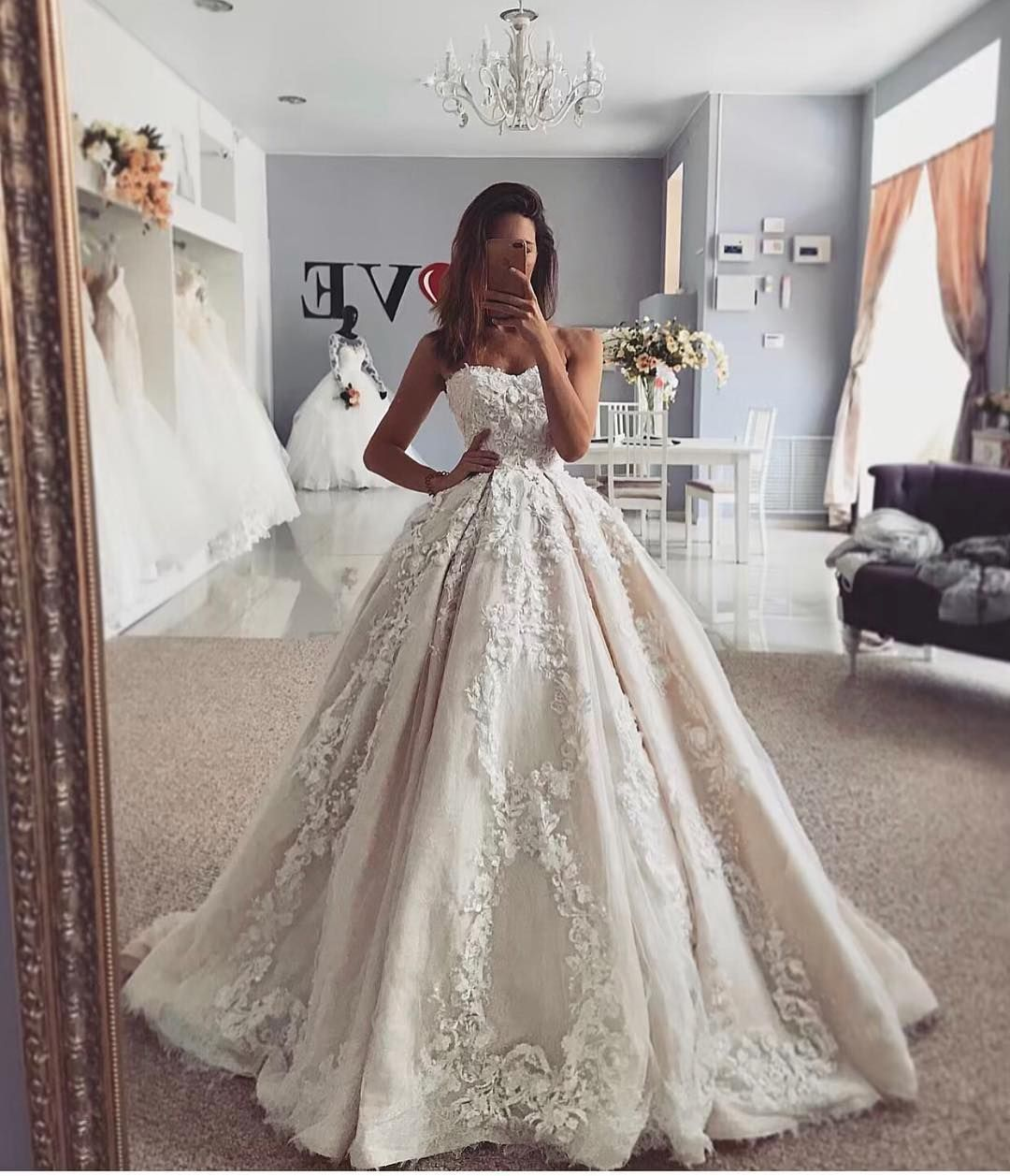 LuxeBrideGuide (@luxebrideguide) • Instagram photos and videos There's nothing like a big, beautiful ball gown  Gown @salonlove1            luxebrideguide ballgown weddinggoals weddingdressgo is part of Wedding dresses -