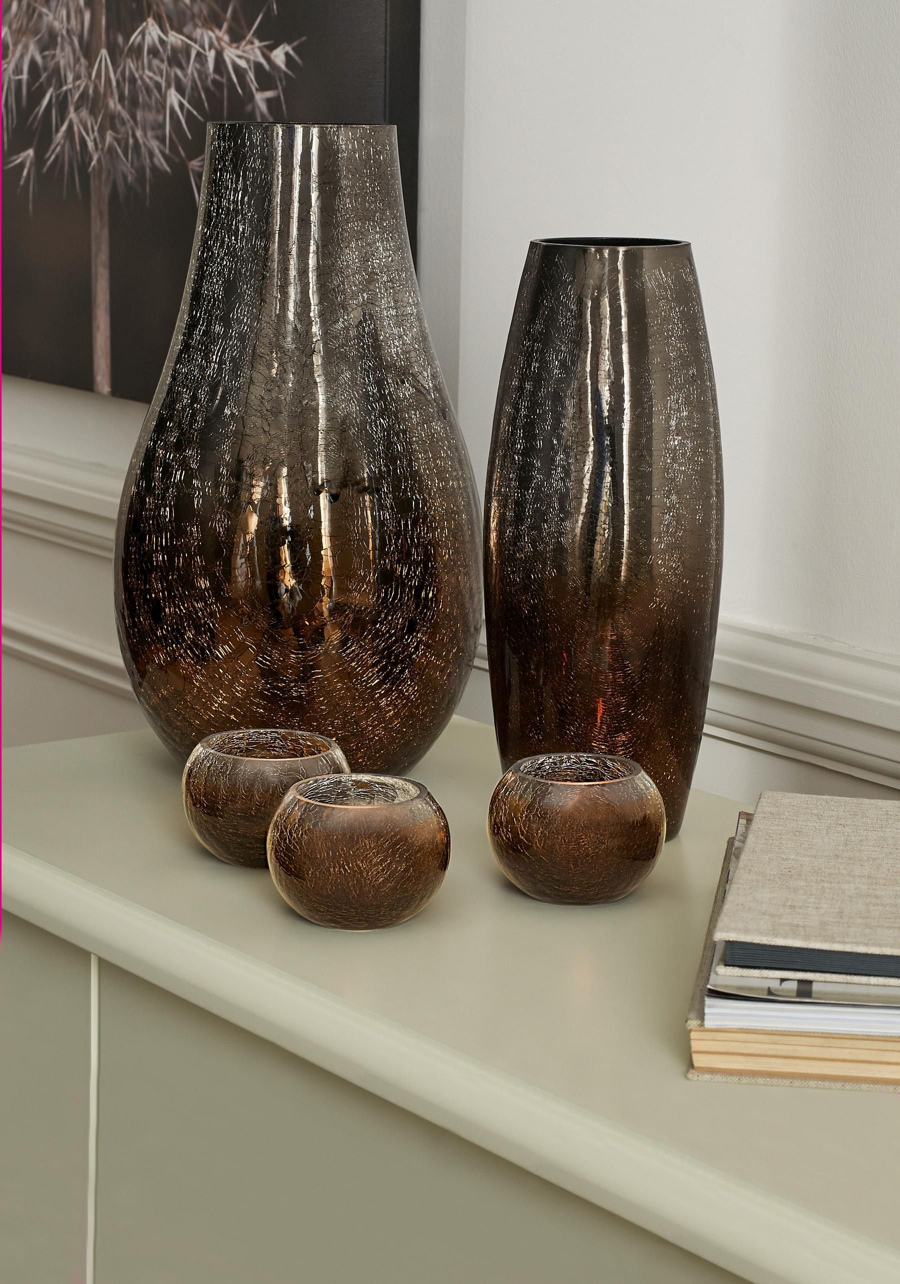 Mink ombre crackle glass medium vase from the next uk online shop mink ombre crackle glass medium vase from the next uk online shop reviewsmspy