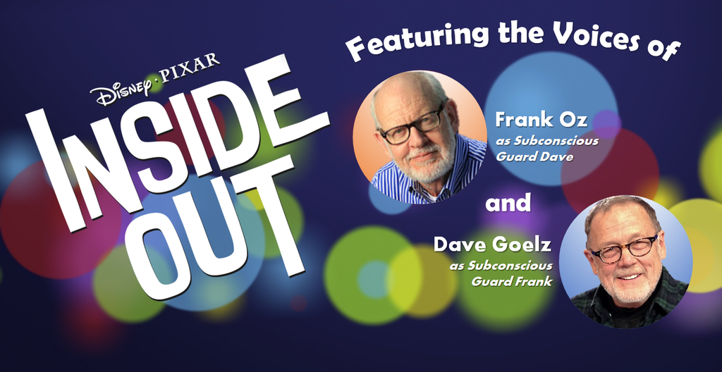 Frank Oz And Dave Goelz Re Team For Pixar Muppet Fans Who Grew Up Frank Oz Muppets New Pixar Movies
