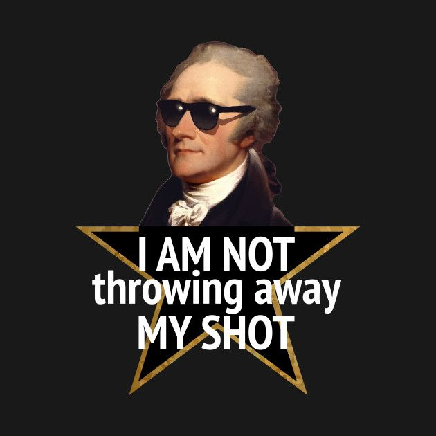 Image result for my shot hamilton meme