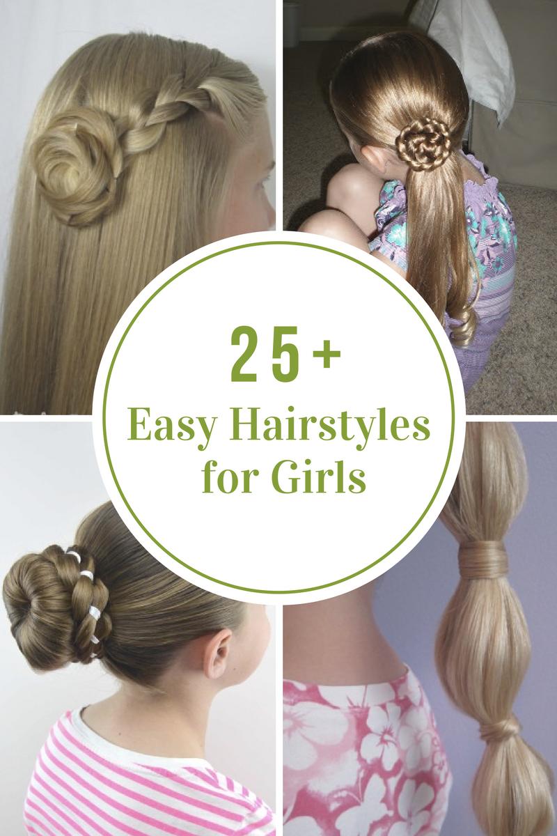Easyhairstylesforgirlsg hairstyle pinterest