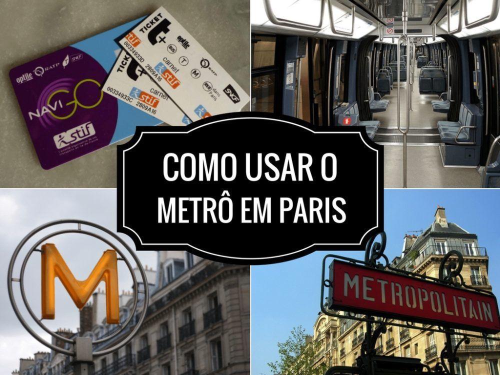 Usar o metrô em Paris é a dúvida de muitos viajantes. Então aqui está um 5927a8b4f4