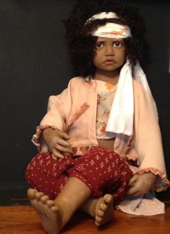 Leila (Past), Philip Heath, rare collectible doll | Just Imagine Dolls