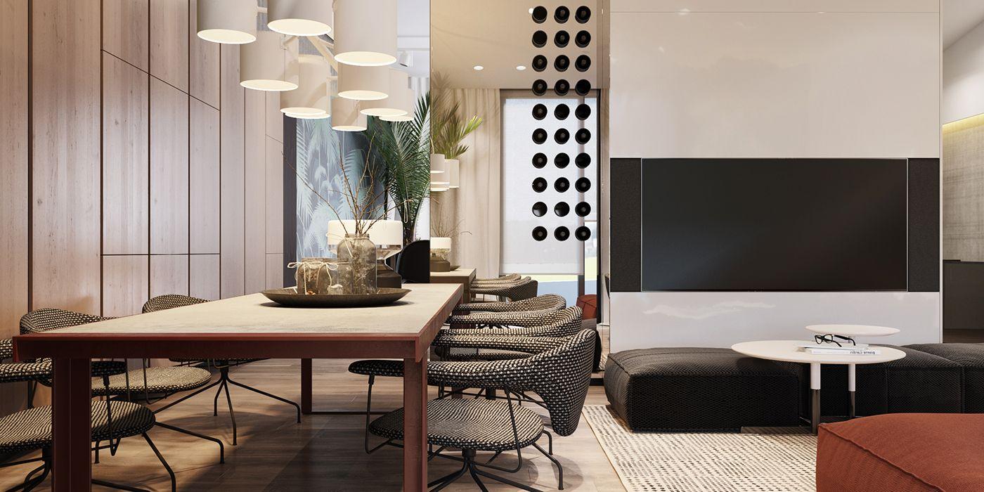 Penthaus In Kiev Interior Design Project Eksklyuzivnyj Dizajn
