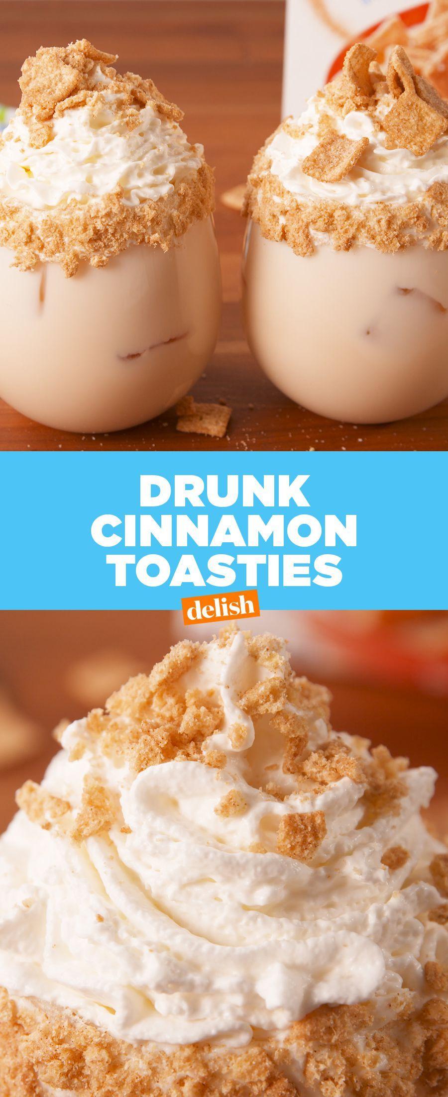 Rumchata Toasties #cinnamontoastcrunch