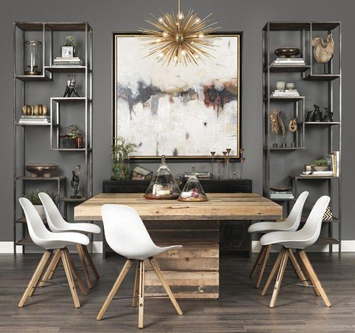 Superb Einrichtung Kleines Esszimmer #4: Esszimmertische Design Holz Kleines Esszimmer Einrichten Ideen