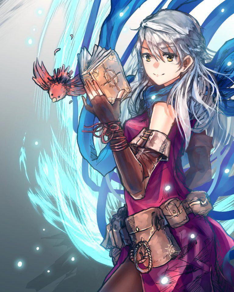 """甄立堅 (AmosY) on Twitter """"Micaiah [ミカヤ] colored doodle for"""