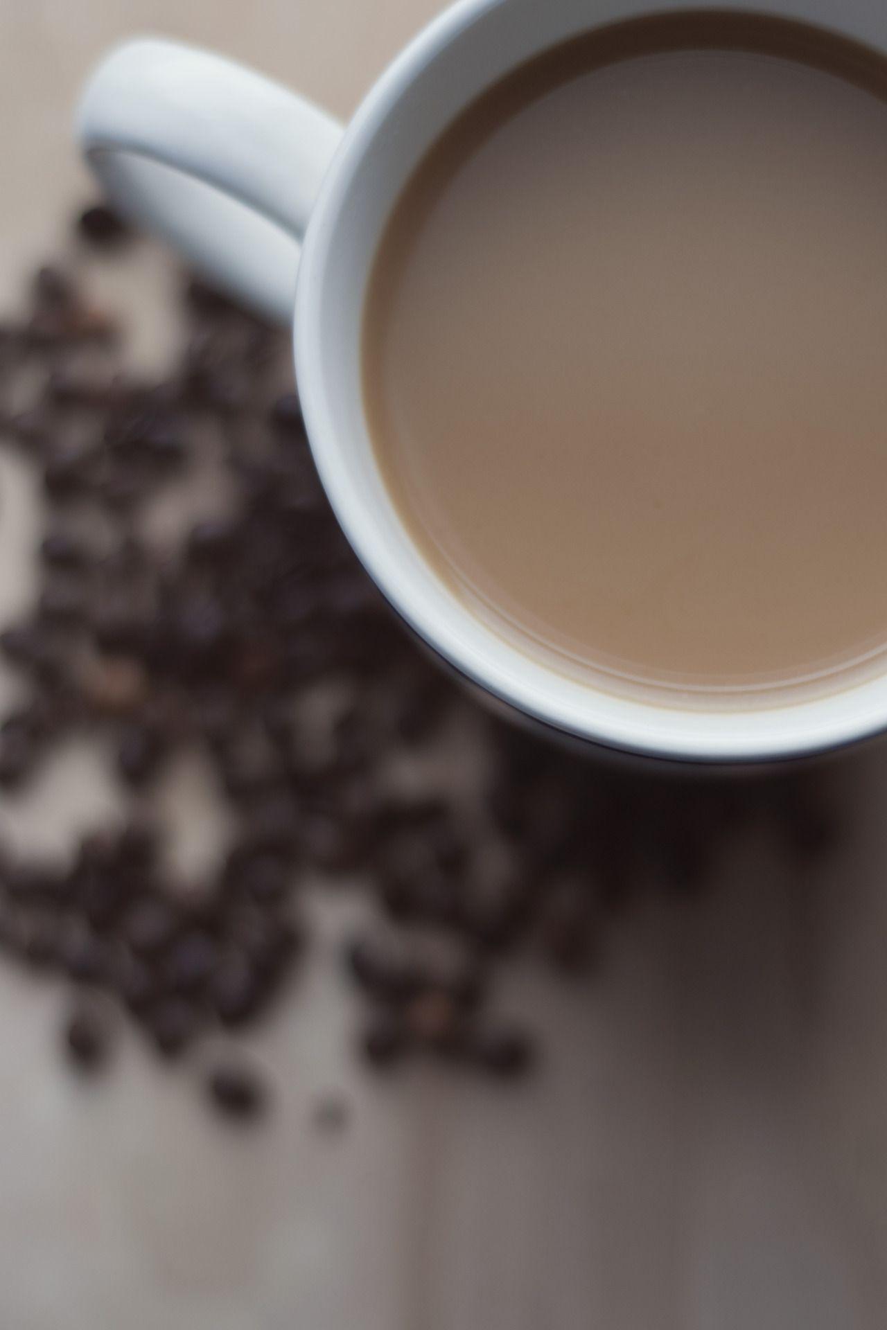 кофе с молоком гифка лебедями, как
