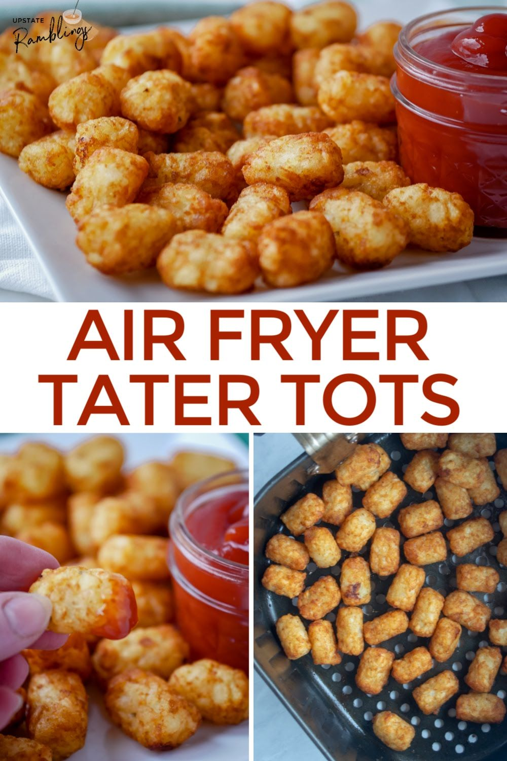 Air Fryer Tater Tots in 2020 Tater tot, Tater, Side