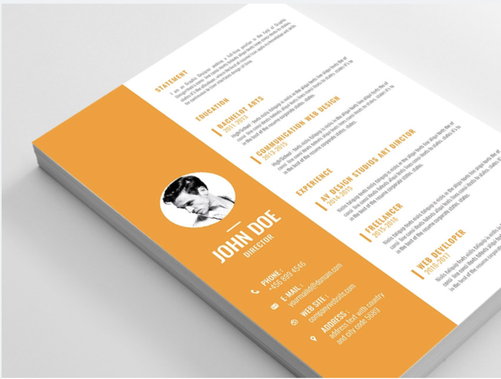 The Best Free Creative Resume Templates of 2019 - Creative resume template free, Creative resume templates, Cv template, Downloadable resume template, Creative cv template, Cv template free - It's 2019—if you want a new job, you're going to need an eyecatching resume  Here's our curated list of the 21 best free, creative resume templates right now
