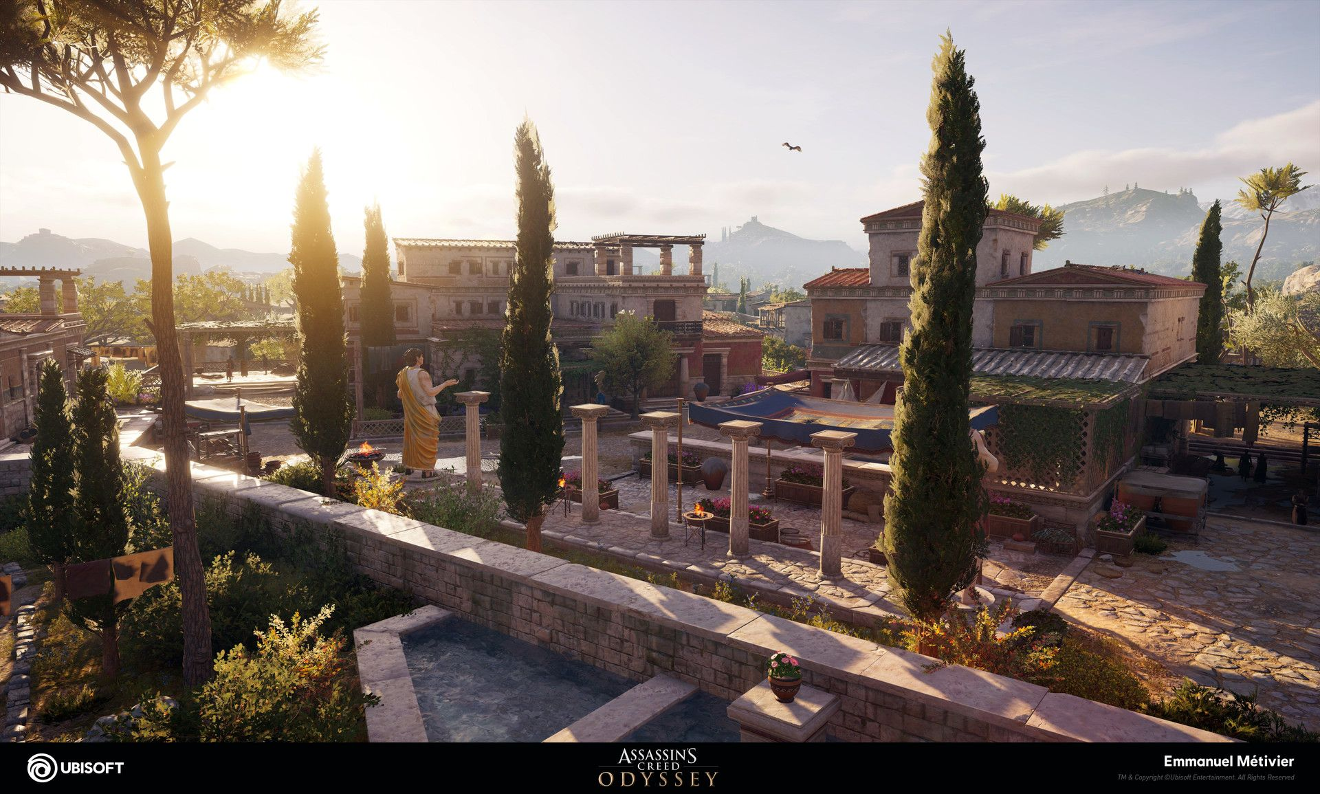 Artstation Assassin S Creed Odyssey Athens Emmanuel