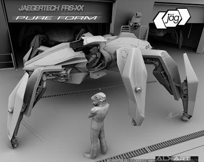JAEGERTECH FRS-XX 'Pure Form' renders