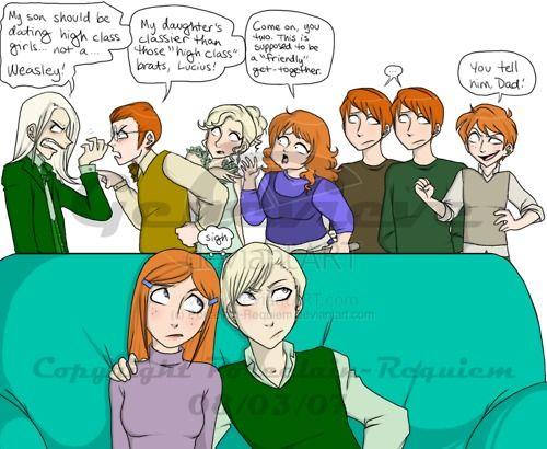 Pin On Draco Ginny