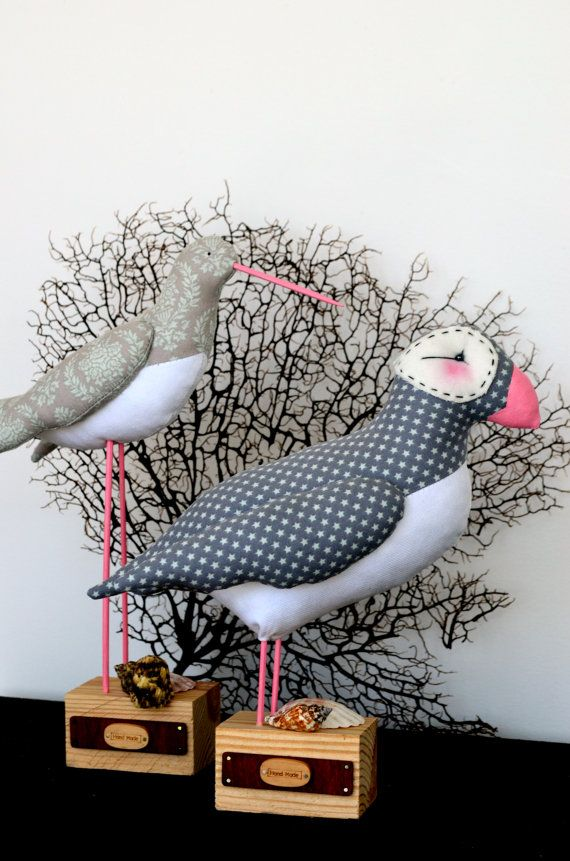 Tilda Birds. Oystercatcher and Puffin. Tilda Sew Sunny by SewnJoys ...