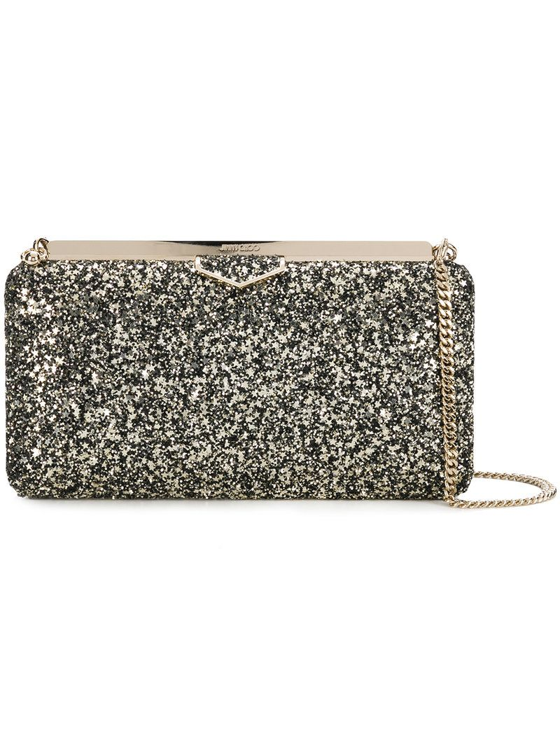 eb7cee2b35 JIMMY CHOO ELLIPSE CLUTCH. #jimmychoo #bags #leather #clutch #shoulder bags  #lining #hand bags #glitter #