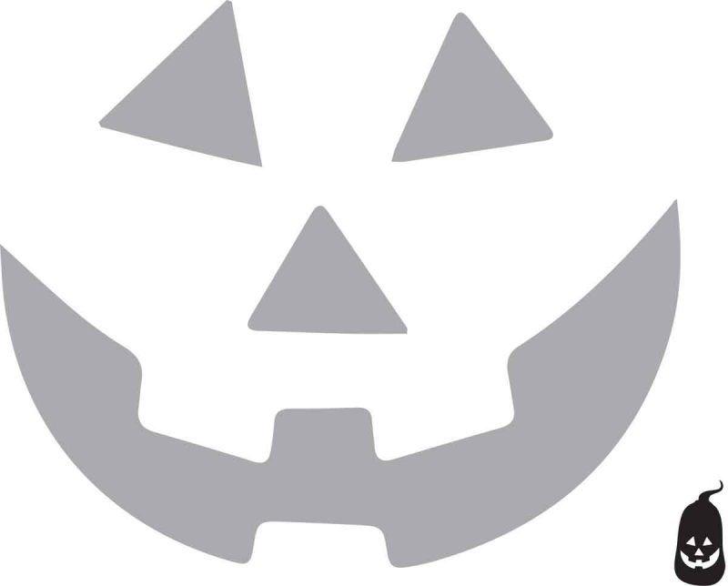 Jack O Lantern Face Free Printable