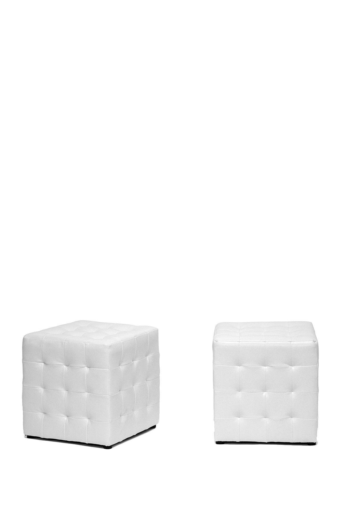 Modern Cube Ottomans Cube Ottoman Ottoman Set Living Room Style