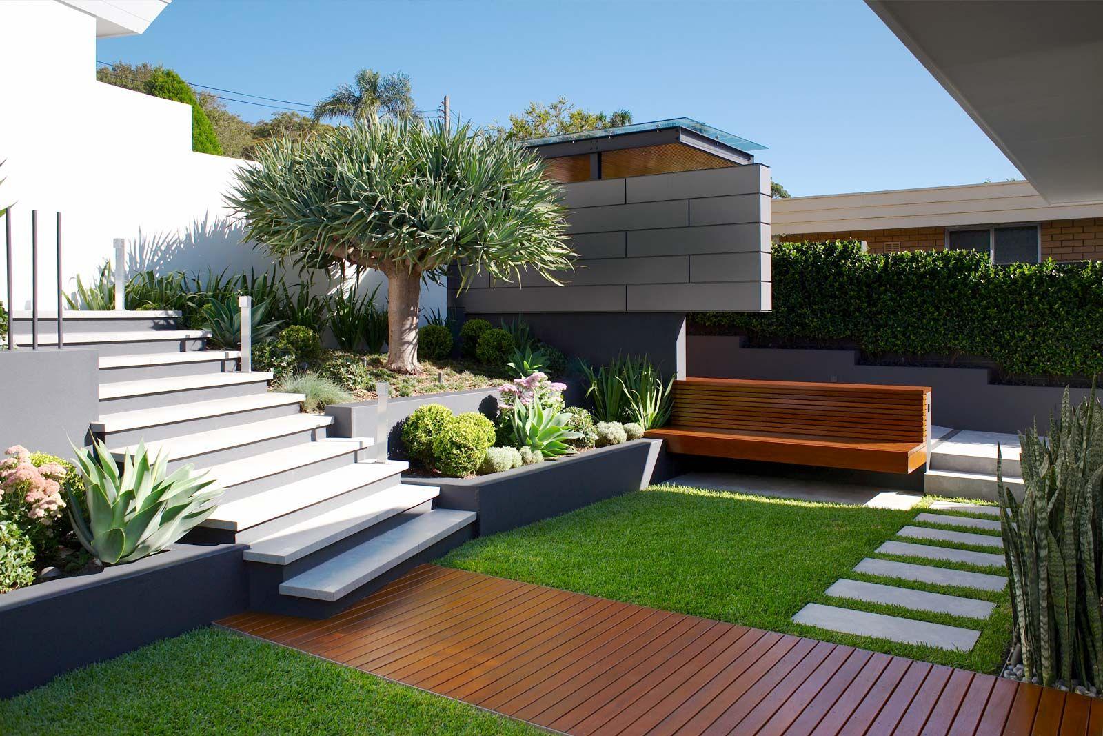 Caringbah Landscape Design By Secret Gardens Sydney Landscape Architects Courtyard Gardens Design Garden Design Landscape Design Modern backyard ideas australia